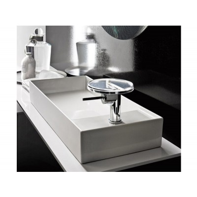 Kartell by Laufen white reversible on top sink 8.1233.2.000