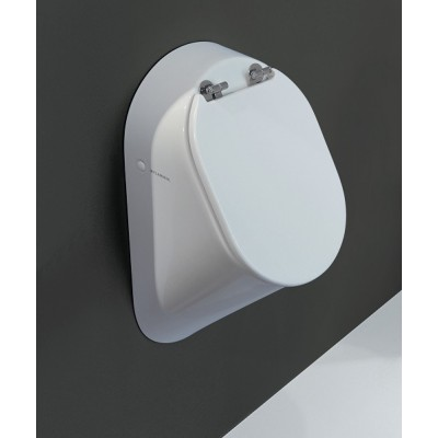 Flaminia Volo White Urinal in ceramic KY29+KY29CW01