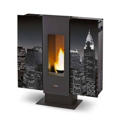Cadel Wall stove pellet air 9 kW 7013008