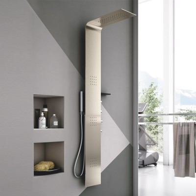 Hafro Lama Metallo shower column 4LAA5N0