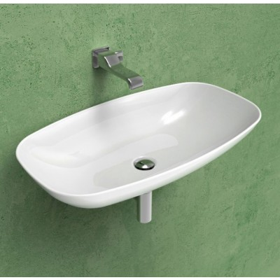 Flaminia Nuda Slim 75 Countertop/wall-hung Sink ND75L