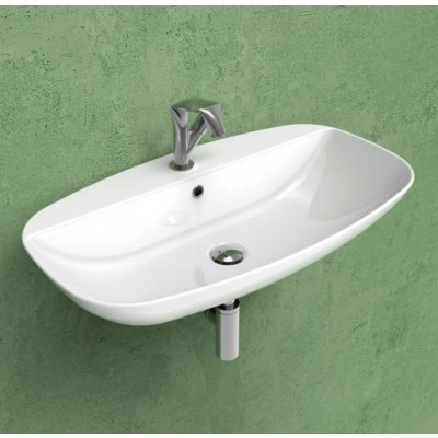 Flaminia Nuda Slim 75 Countertop/wall-hung Sink ND75PR