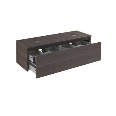 Inova Premium Base 2 Drawer Top With Sink Hole cod. PMBS07FDP