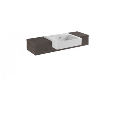 Inova Premium Base 2 Drawers Semi-recessed PCST04LVD