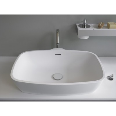 Agape Normal shaped over countertop sink ACER0797Z