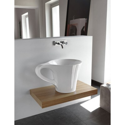 Artceram One Shot-Cup countertop sink OSL005 01;00
