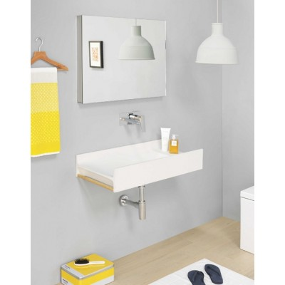 Artceram OneShot wall-hung/countertop sink in Livingtec OSL011 01;00