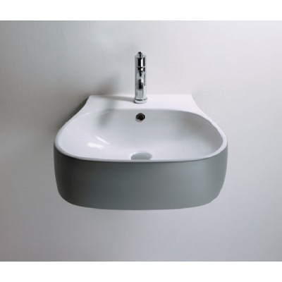 Agape Pear semi-recessed sink without holes ACER0719Z