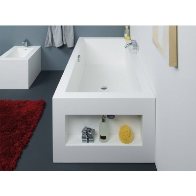 Planit Aquarius freestanding tub in Corian AQUARIUS