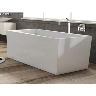 Planit Cliff freestanding tub in Corian CLIFF