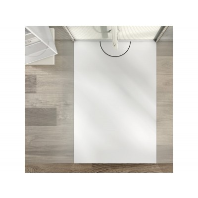 Planit Alba Corian shower tray selectable size ALBA