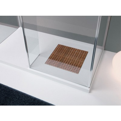 Planit Grid Corian shower tray selectable size GRID