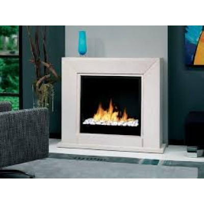 Fireplaces British Fire Quadro Suite bioethanol Fireplace BQUA5820BFP