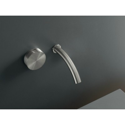 Cea Design Giotto Wall mounted hydroprogressive tap with spout GIO18S + recessed part PTR03