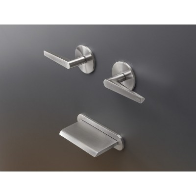 Cea Design Flag Set of 2 individual taps for bathutb with waterfall spout FLG24 + built - in part PTR31