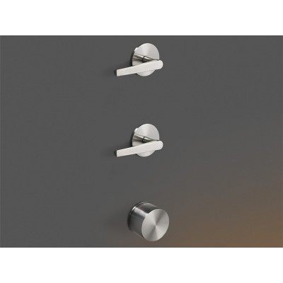 Cea Design Flag Thermostatic tap set with 2shutf-off walves FLG52S + built - in part PTR34