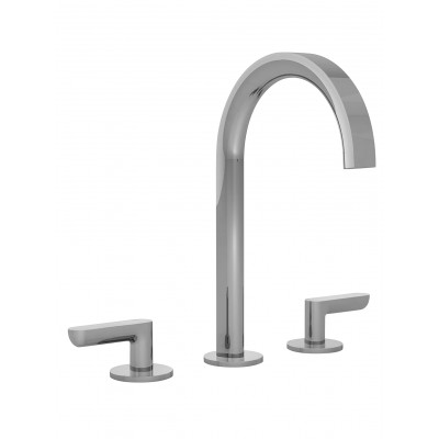 Fantini Icona Classic Three-holes sink group R107