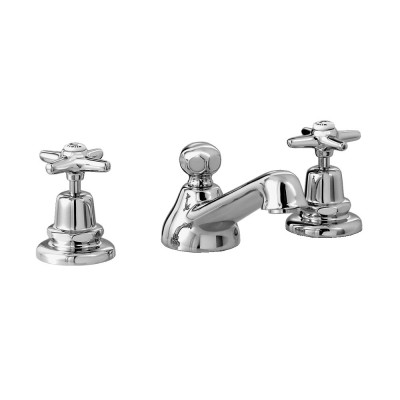 Stella Italica 3224P Mixers Three-hole washbasin mixer IT00013CR00