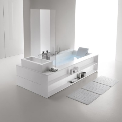 Hafro Sensual tub with frame 2SNC1S2/2SNC1D2