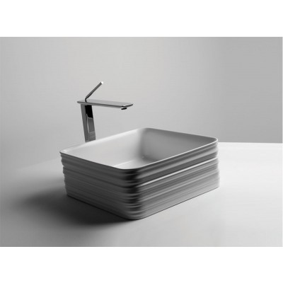 Valdama TRACE on top sink SQUARED