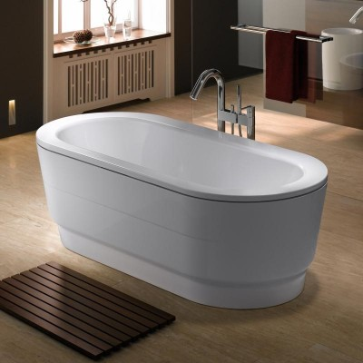 Kaldewei Classic Duo Oval Wide Whit Panelling Tubs Freestanding Tub 115-7-6801