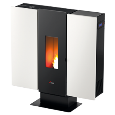 Cadel Wall3 Stoves Pellet Design Stove 10kW 7017032-6913025