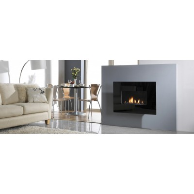 Fireplaces British Fire Wide 41 Gas Fireplace GWIDE41NMMF