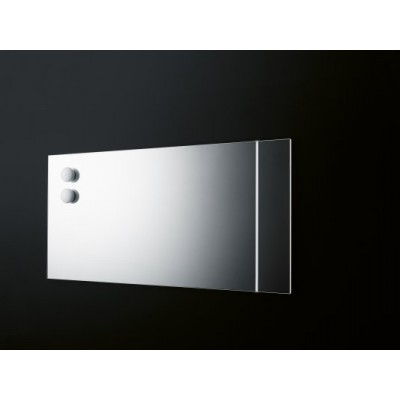 Boffi WK6 mirror with double led bar OMAD01