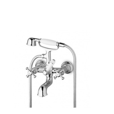 Zucchetti Delfi Exposed bath-shower tap Z46230.8008
