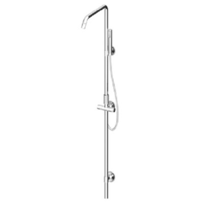 Zucchetti Isyshower Mixers shower colomn ZD1057+R99673