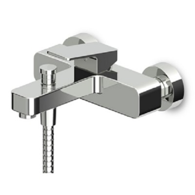 Zucchetti Jingle exposed single lever bath-shower mixer with diverter ZIN102