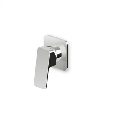 Zucchetti Jingle Built-in single lever shower mixer ZIN126+R99499