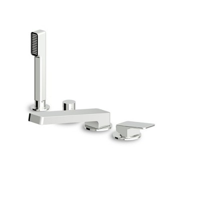 Zucchetti Jingle  4 hole bath tub single lever mixer ZIN450