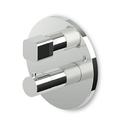Zucchetti Jingle built-in thermostatic shower tap ZIN800+R97800