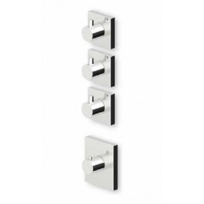 """Zucchetti Pan+ 3/4"""" built-in thermostatic shower tap ZP8098+R99632"""