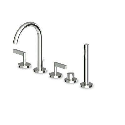 Zucchetti Simply Beautiful 5 hole bath tap ZSB5474