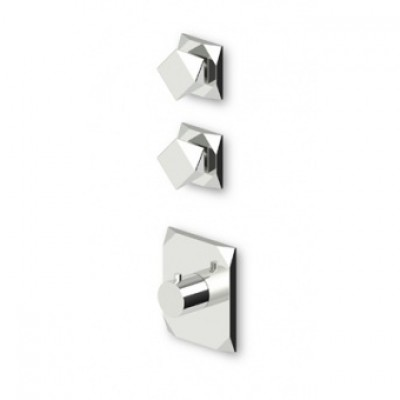 "Zucchetti Wosh 3/4"" built-in thermostatic shower tap ZW5091+R99631"