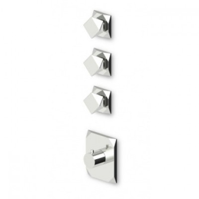"Zucchetti Wosh 3/4"" built-in thermostatic shower tap ZW5098+R99632"