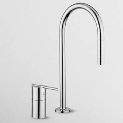 Zucchetti Kitchen single lever sink spin tap ZX3267