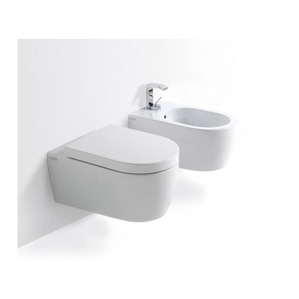 Cielo Smile NEW Suspended Sanitary WC+Bidet SMVSNW+SMBSNW