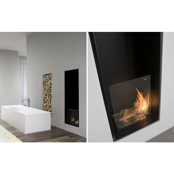 Antonio Lupi Canto Del Fuoco Single Faced Wood Fireplace CANTOL144
