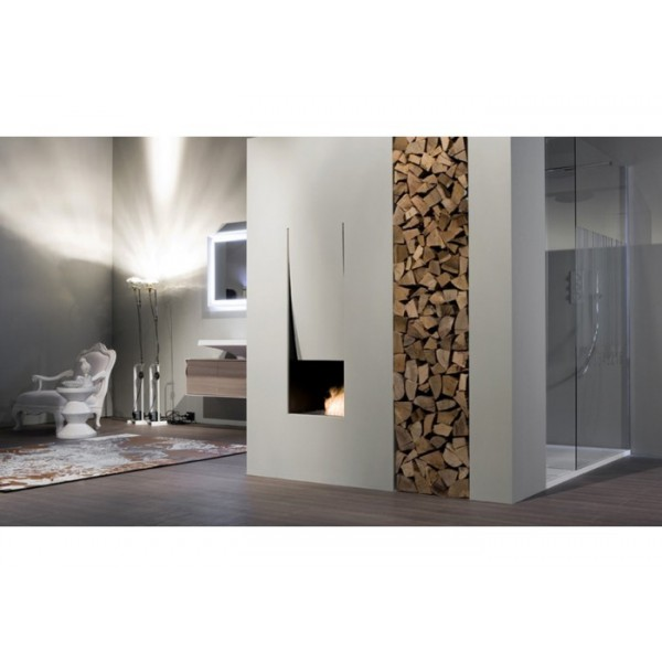 Antonio Lupi Canto Del Fuoco Single Faced Wood Fireplace CANTOLC63