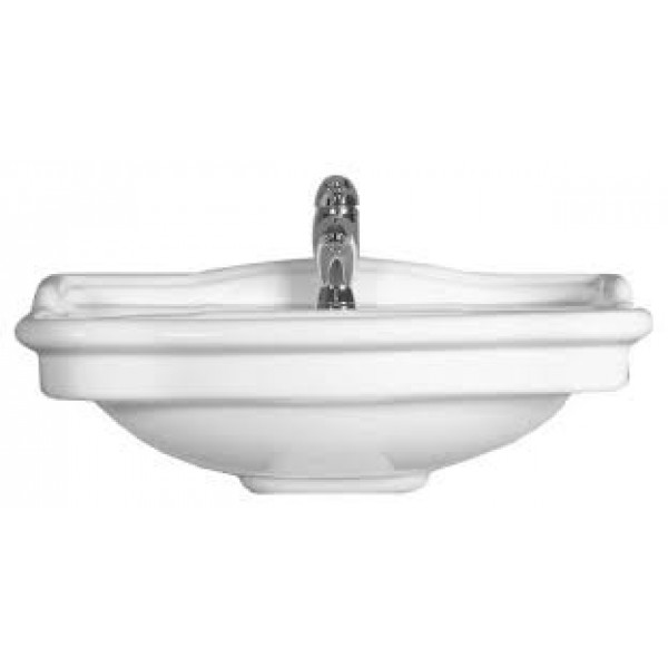 Cielo Windsor Sink with Pedestal WINLAVB+WINCOLB